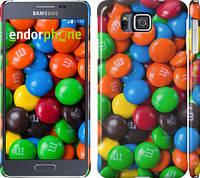 "Чехол на Samsung Galaxy Alpha G850F M&M's ""1637c-65"""