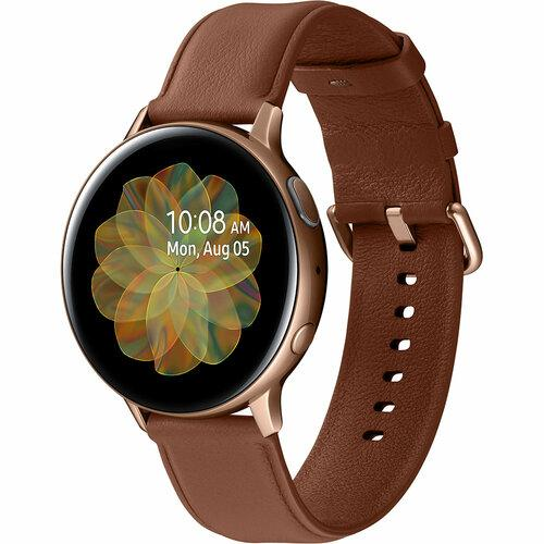 Смарт-часы SAMSUNG Galaxy Watch Active 2 44mm Stainless steel Gold UA