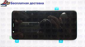 Дисплей с сенсором Samsung A605 Galaxy A6 plus 2018 чёрный/black, GH97-21878A