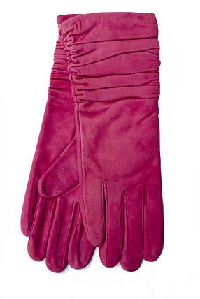 Женские удлиненные замшевые перчатки 795s1, фото 2