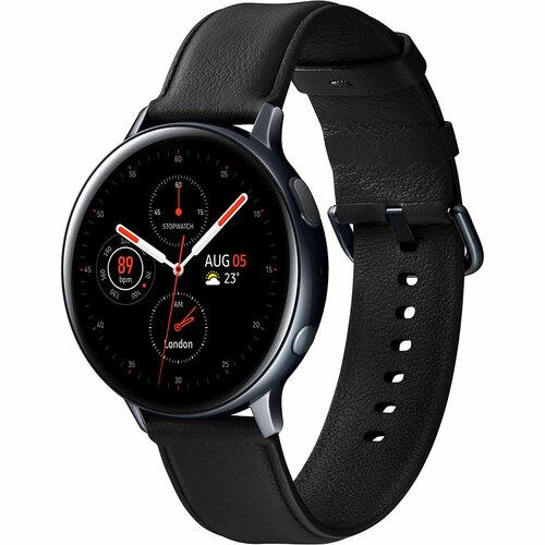 Смарт-часы SAMSUNG Galaxy Watch Active 2 44mm Stainless Steel Black UA