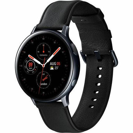 Смарт-часы SAMSUNG Galaxy Watch Active 2 44mm Stainless Steel Black UA, фото 2