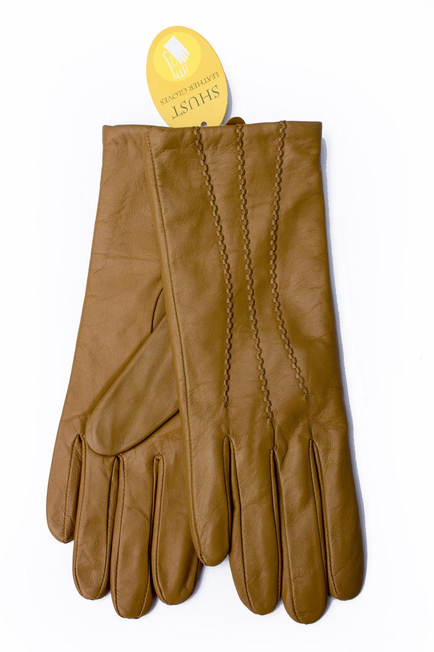 Женские кожаные перчатки 812s3