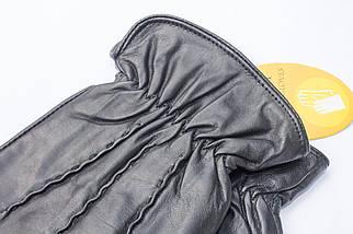 Мужские кожаные перчатки  831s1, фото 2