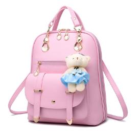 Рюкзак-сумка Sujimima рожевий код: ( R626 )