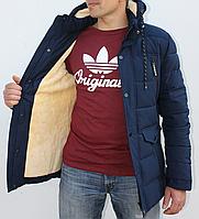 Реальная Распродажа! Куртка, Парка, Аляска до -25 С Теплая куртка Зимняя куртка Зимняя парка мужская