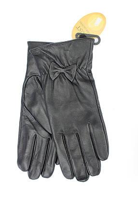 Женские кожаные перчатки 308s1, фото 2
