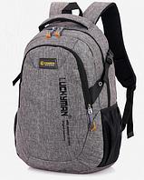 Рюкзак Luckyman міської сірий код: ( R442 ), фото 1