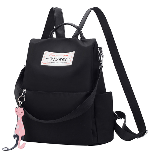 Рюкзак-сумка Yiqbei чорний код: ( R608 )