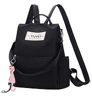 Рюкзак-сумка Yiqbei чорний код: ( R608 ), фото 1