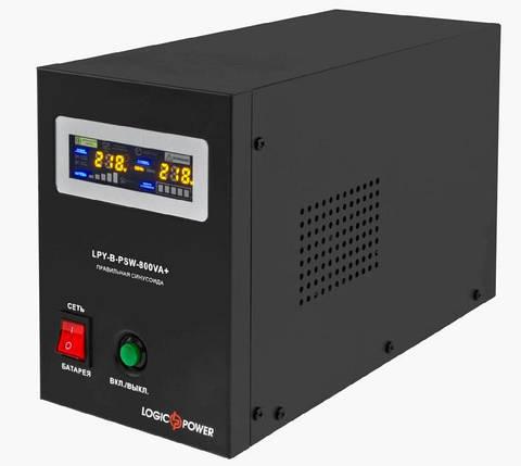 ИБП для котла с правильной синусоидой LPY-B-PSW-800VA+ (560W) 5A/15A 12V, фото 2