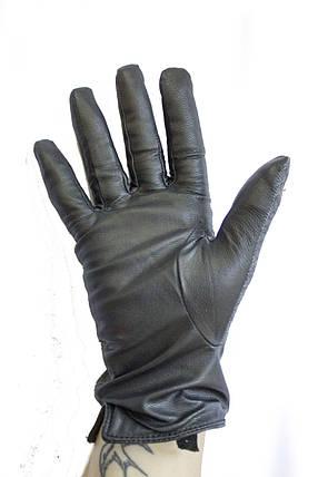 Женские комбинированные перчатки кожа+ткань 710s2, фото 2