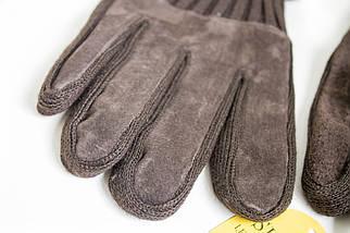 Мужские замшевые перчатки Shust Gloves BROWN Средние SGB-160135s2, фото 2