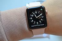 Смарт-часы Apple Watch Series 3 42mm A1859 Gold Aluminum (GPS ) Оригинал!, фото 1