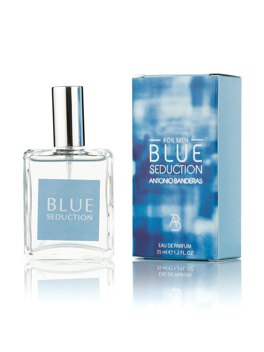 Мини парфюм Antonio Banderas Blue Seduction (Антонио Бандерас Блу Седакшн) 35 мл