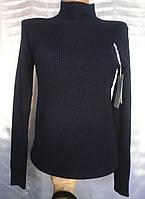 Гольф в рубчик (горло - СТОЙКА) женский норма 46-50 (ПОШТУЧНО), фото 1