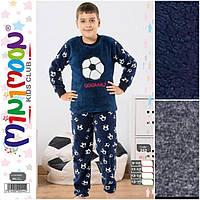 Зимние пижамы из флисовой и махровой ткани