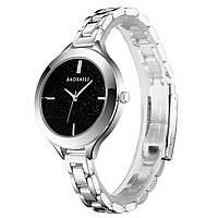 ◯Часы BAOSAILI BSL1049 Silver для девушек с кварцевым механизмом наручные женские модный аксессуар