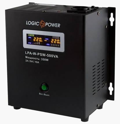 ИБП для котла с правильной синусоидой й LPY-W-PSW-1000VA+ (700W) 10A/20A 12V, фото 2