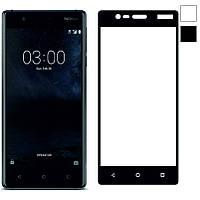 Защитное стекло Full Cover Nokia 3, Black