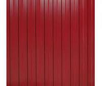 Профнастил  красный  2м