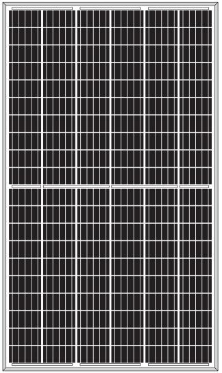 Сонячна батарея Leapton Solar LP156-330M-60-H (330Вт Half Cell Моно)