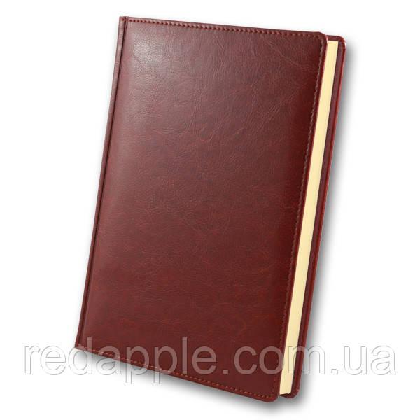Ежедневник дат. 2020 А5 Крем. блок ЗВ-71 Sarif красно-коричневый