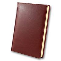 Ежедневник дат. 2020 А5 Крем. блок ЗВ-71 Sarif красно-коричневый, фото 1