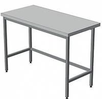 Стол производственный островной (без полки) AISI 201, 500 х 600 х 850 (мм)