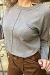 Джемпер люрекс с передним карманом Evelin ( 7926 ) разные расцветки, фото 6