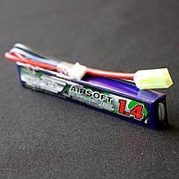АКБ Turnigy LiPo 7.4v 1400mAh 15~25C, фото 1