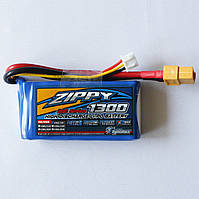 АКБ ZIPPY LiPo 7.4v 1300mAh 20C, фото 1
