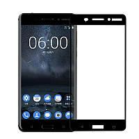 Защитное стекло Full Cover Nokia 6, Black