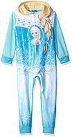 Disney Фроузен, Эльза Frozen слип, комбинезон, кигуруми пижама для девочки , 8 лет, фото 1