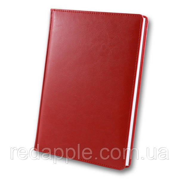 Ежедневник дат. 2020 А5 ЗВ-55 Sarif красный