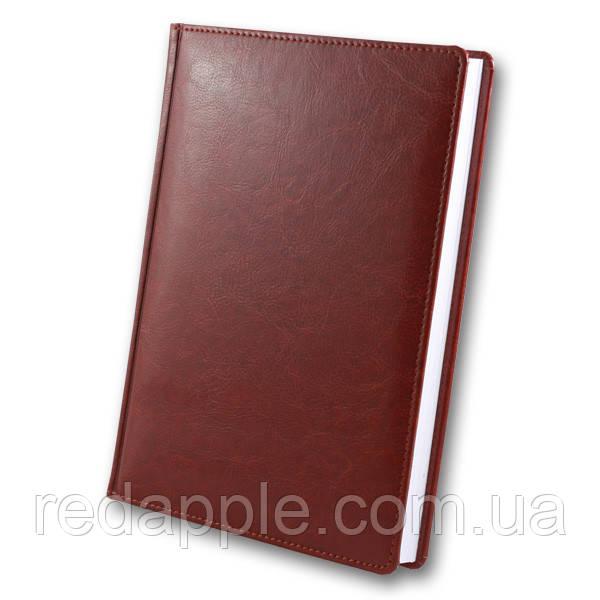 Ежедневник дат. 2020 А5 ЗВ-55 Sarif красно-коричневый