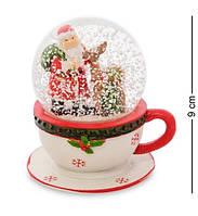 Новогодний шар со снегом Дед Мороз XM-612-1