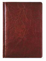 Ежедневник недат. А4 Крем. блок ЗВ-87 Sarif красно-коричневый