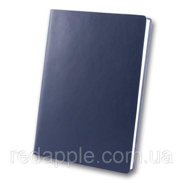 Ежедн. недат. А5 ЗВ-435 Frankfurt синий (интегральная обложка)