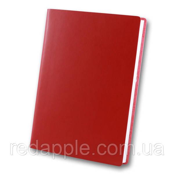 Ежедн. недат. А5 ЗВ-435 Frankfurt красный (интегральная обложка)