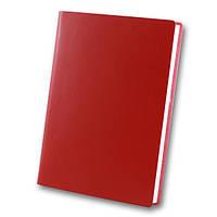 Ежедн. недат. А5 ЗВ-435 Frankfurt красный (интегральная обложка), фото 1