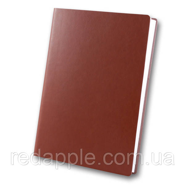 Ежедн. недат. А5 ЗВ-435 Frankfurt коричневый (интегральная обложка)
