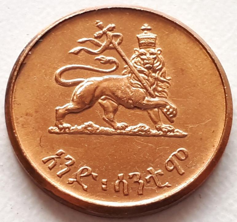 Эфиопия 1 цент 1944