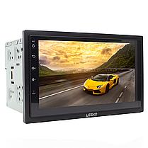 ☀Магнитола 7'' Lesko 7003А память 1/16GB 2 Din MP3 GPS навигатор Wi Fi Андроид 8.1 для авто, фото 3