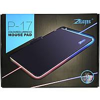 ☞Коврик с подсветкой ZELOTES P-17 для мыши светодиодный игровой для Пк и ноутбука, фото 9