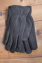 Мужские зимние стрейчевые перчатки + кролик 8195