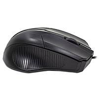 ✓ Мышь проводная Apedra M3 Black USB 1000 dpi для ноутбуков Пк компьютерная, фото 3