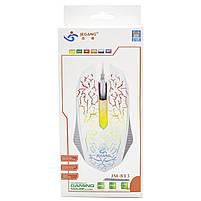 ✸Проводная мышь JEQANG JM-813 Black 3 кнопки компьютерная 1200 DPI USB оптическая, фото 8
