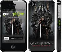 """Чехол на iPhone 4s Игра престолов 1 """"429c-12"""""""