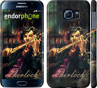 "Чехол на Samsung Galaxy S6 G920 Шерлок ""438c-80"""